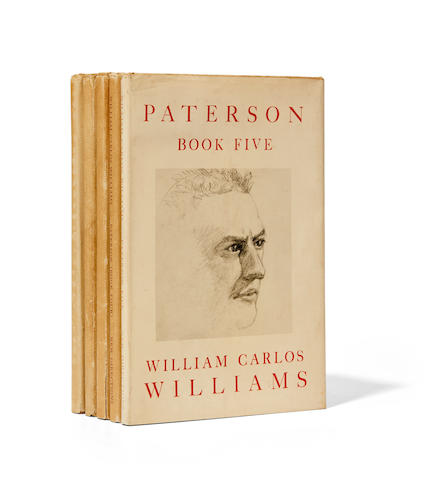 WILLIAMS, WILLIAM CARLOS. 1883-1963. Paterson. New York: New Directions, 1946-1958.