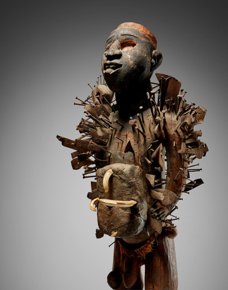 Kongo-Yombe Power Figure, Democratic Republic of the Congo