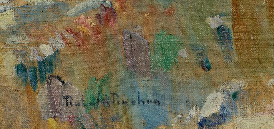 Robert Antoine Pinchon (French, 1886-1943) Environs de Rouen 23 7/8 x 31 7/8in (60.5 x 81cm)