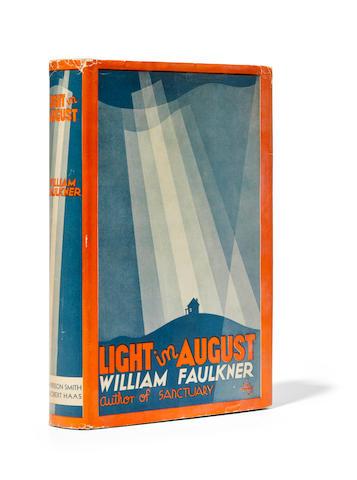 FAULKNER, WILLIAM. 1897-1962. Light in August. [New York]: Harrison Smith & Robert Hass, 1932.