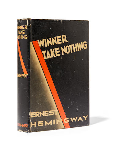 HEMINGWAY, ERNEST. 1899-1961. Winner Take Nothing.  New York: Scribner's, 1933.