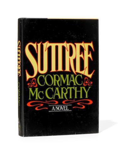 MCCARTHY, CORMAC. B.1933. Suttree.  New York: Random House, (1979).