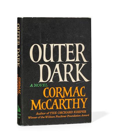 MCCARTHY, CORMAC. B.1933. Outer Dark.  New York: Random House, (1968).