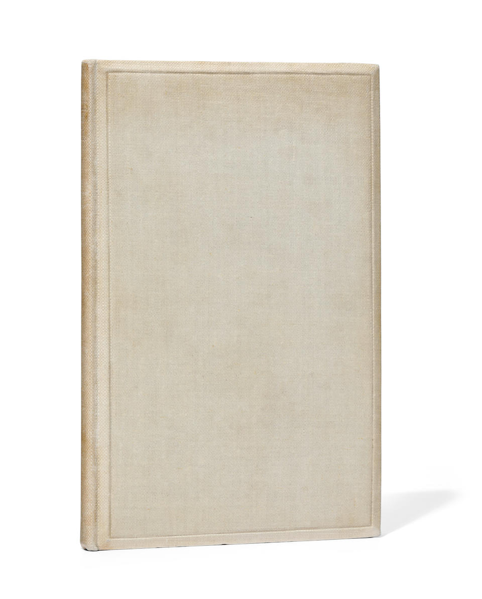 ELIOT, THOMAS STEARNS. 1888-1965. Poems 1909-1925. London: Faber & Gwyer Ltd, 1925 [but 1926].