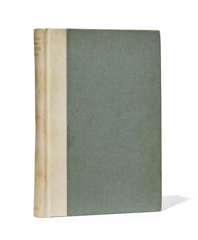 POUND, EZRA. 1885-1972. Eliot, T.S., Editor. Selected Poems.  London: Faber & Gwyer, (1928).