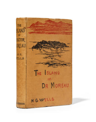 WELLS, H.G. 1866-1946. The Island of Dr. Moreau.  London: William Heinemann, 1896.