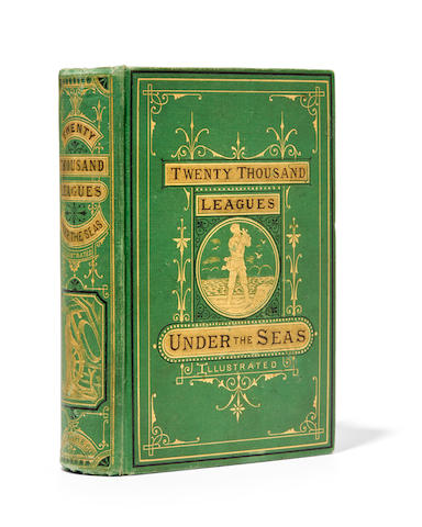VERNE, JULES. 1828-1905. Twenty Thousand Leagues Under the Seas. Boston: George R. Smith, 1873.
