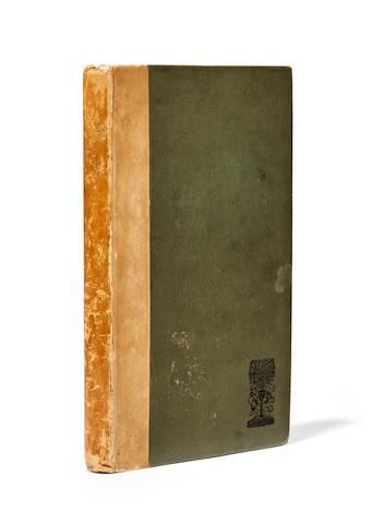YEATS, WILLIAM BUTLER. 1865-1939. The Wanderings of Oisin: Dramatic Sketches, Ballads & Lyrics. London: T. Fisher Unwin, 1892.