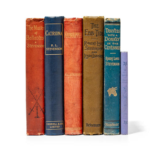 STEVENSON, ROBERT LOUIS. 1850-1894. Six titles: 1. The Body Snatcher. New York: The Merriam Company, 1895.