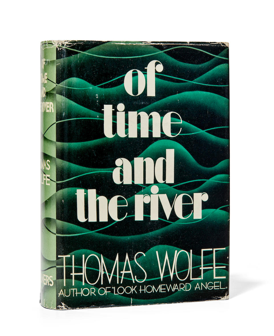 WOLFE, THOMAS. 1900-1938. Of Time and the River. New York: Charles Scribner's Sons, 1935.