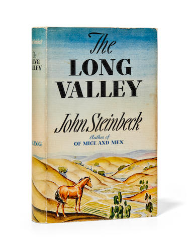 STEINBECK, JOHN. 1902-1968. The Long Valley.  New York: The Viking Press, 1938.