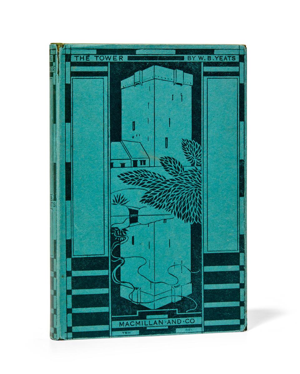 YEATS, WILLIAM BUTLER. 1865-1939. The Tower.  London: Macmillan & Company, 1928.