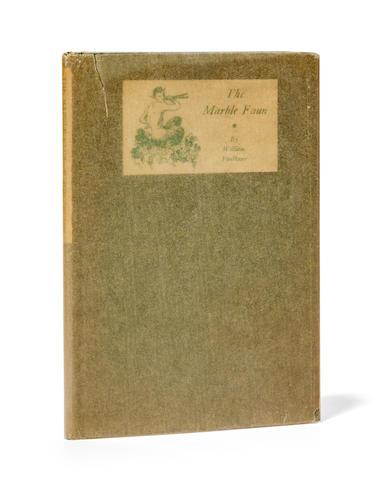 FAULKNER, WILLIAM. 1897-1962. The Marble Faun.  Boston: The Four Seas Company, 1924.