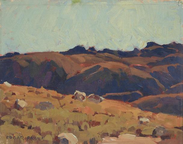 Edgar Payne (1883-1947) Deep Shadows 11 3/4 x 14 1/2in