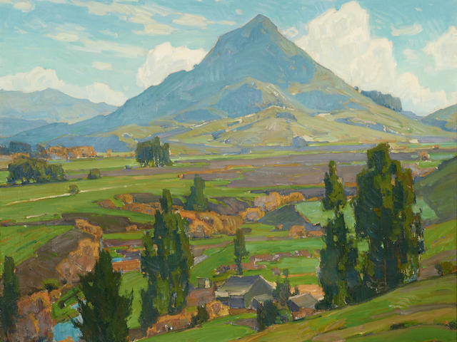 William Wendt (1865-1946) The Soil 30 x 36in