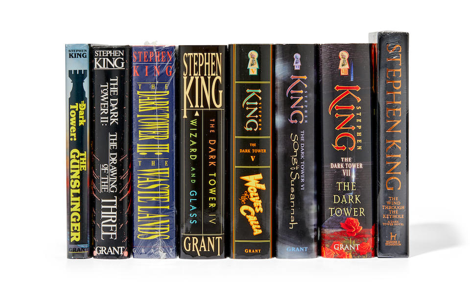 KING, STEPHEN. B.1947. The complete Dark Tower series in 7 volumes, first trade editions,