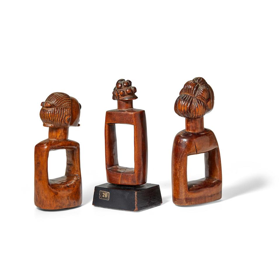 Three Luba Divining Instruments, Democratic Republic of the Congo