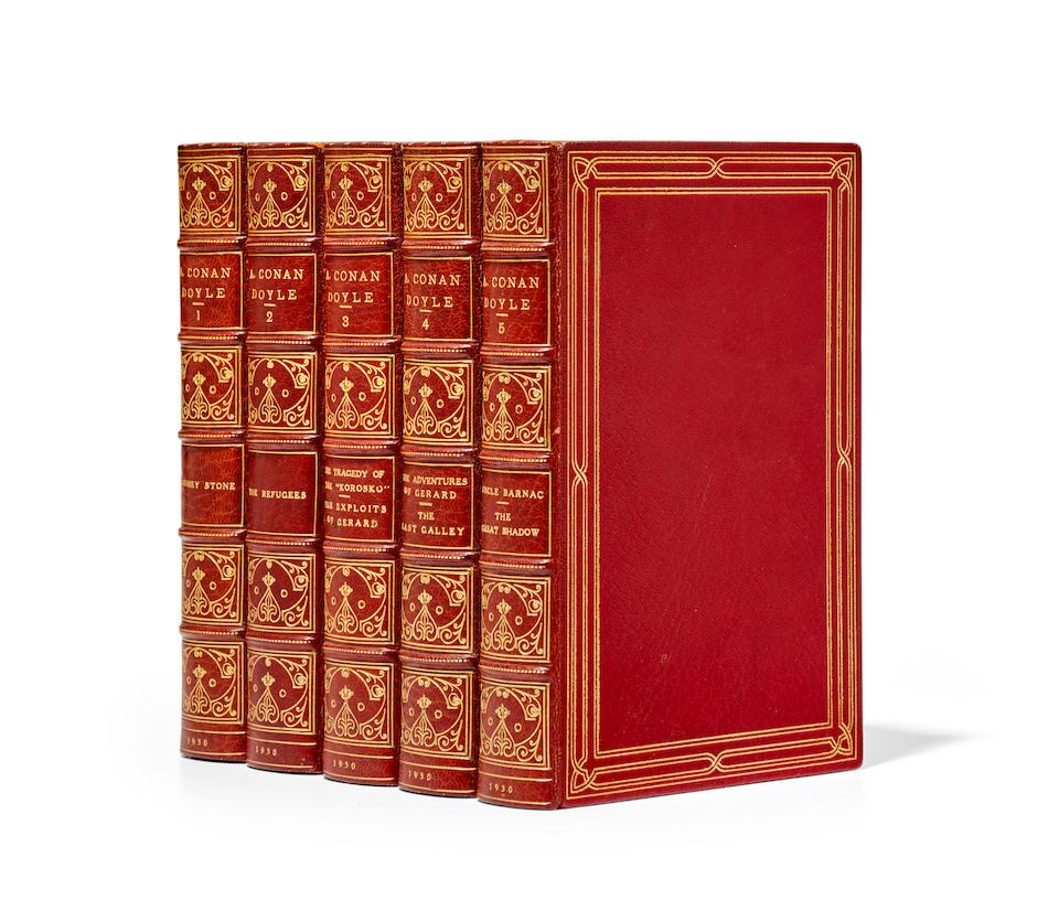 DOYLE, ARTHUR CONAN. 1859-1930. Works. New York: Doubleday, Doran, & Company, 1930.