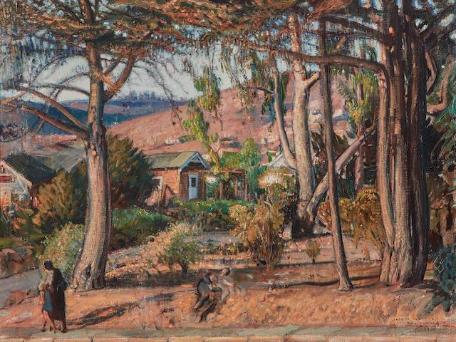 Joseph Kleitsch (1882-1931) California 30 1/4 x 40 1/4in (Painted in 1930.)