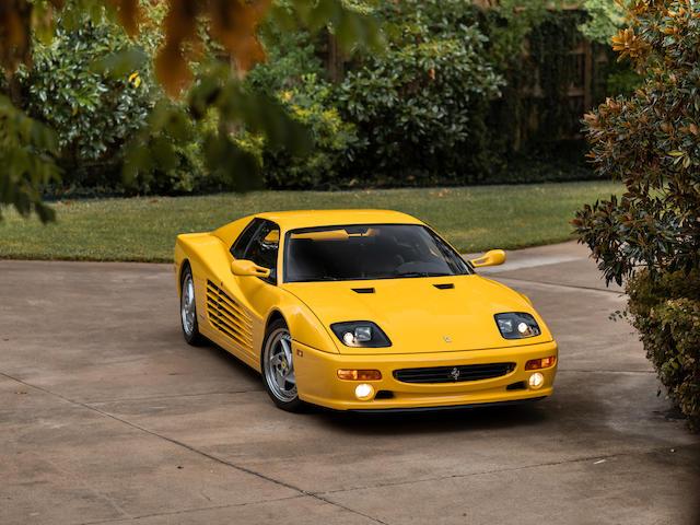1995 Ferrari F512 M  Chassis no. ZFFVG40A2S0100154