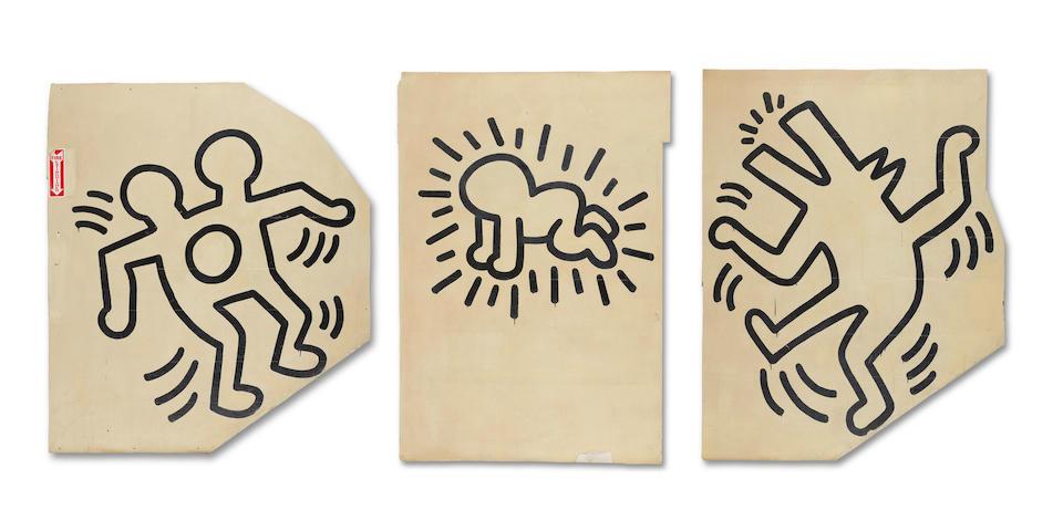 Bonhams To Offer A Keith Haring Masterpiece: The Grace House MuralNovember 13 At Bonhams New York