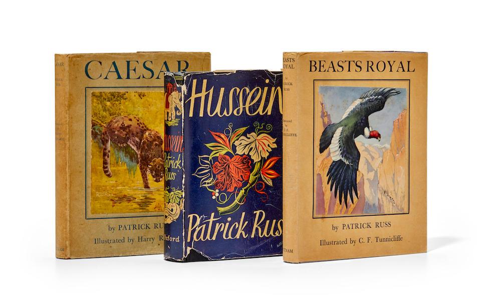 "O'BRIAN, PATRICK. 1914-2000. His first three books, as ""Patrick Russ:""  1. Caesar. London: Putnam, 1930."