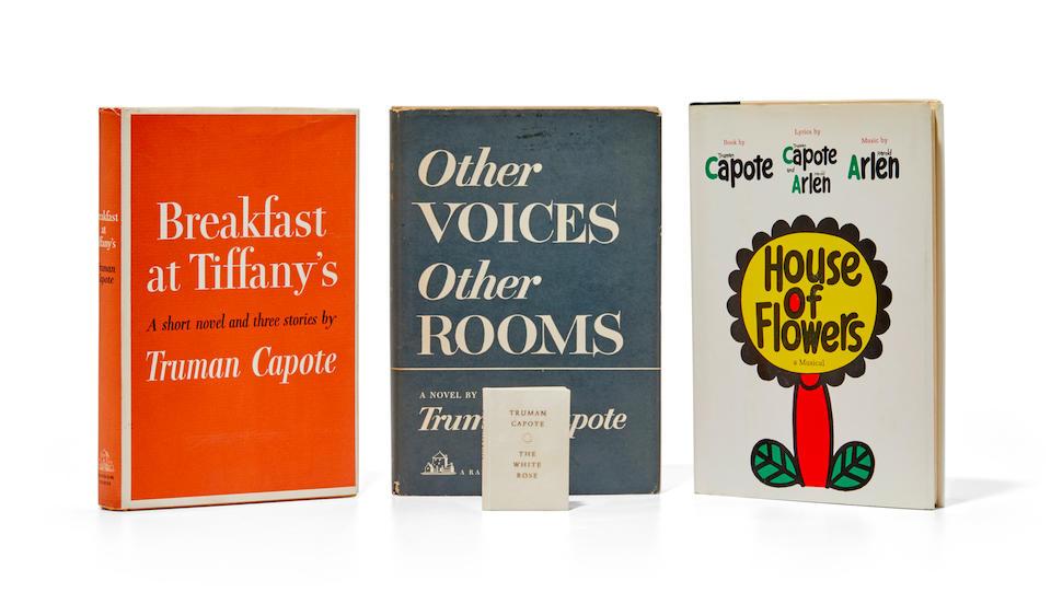 CAPOTE, TRUMAN. 1924-1984. Breakfast at Tiffany's. New York: Random House, 1958.