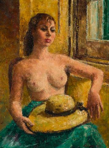 A Lebasque portrait inspired by Mitzi Gaynor, c.1947