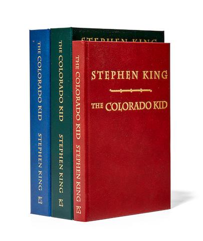 KING, STEPHEN. B.1947. The Colorado Kid. Hornsea: PS Publishing, 2007.