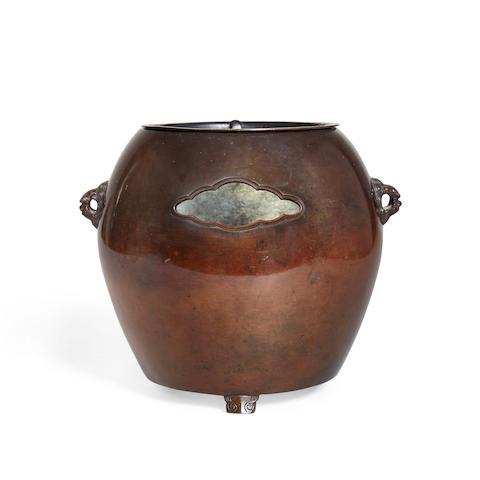 A small bronze brazier Taisho/Showa era (2)