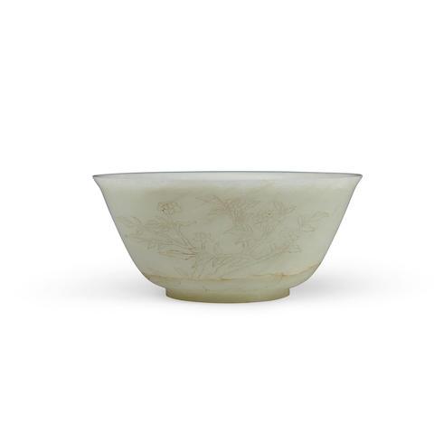 A carved jade bowl Republic period