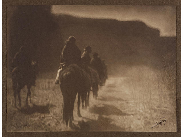 Edward S. Curtis (1868-1952); The Vanishing Race;
