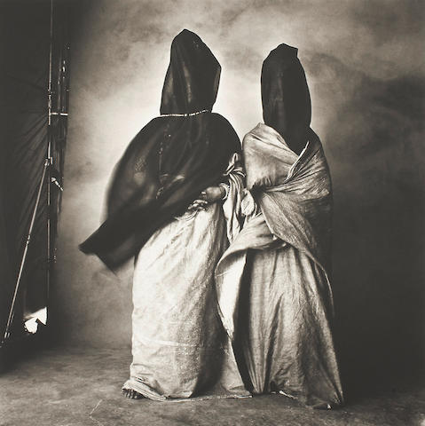 Irving Penn (1917-2009); Guedras in the Wind, Morocco;