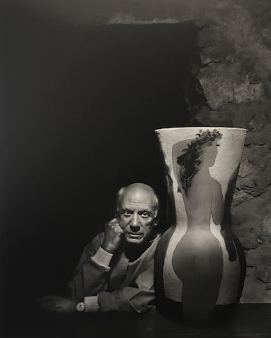 Yousuf Karsh (1908-2002); Pablo Picasso;