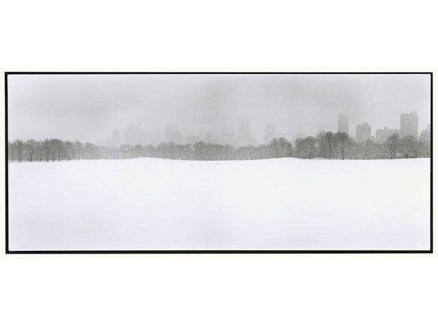 Bruce Davidson (born 1933); Looking South at the City from the Great Lawn in Central Park;