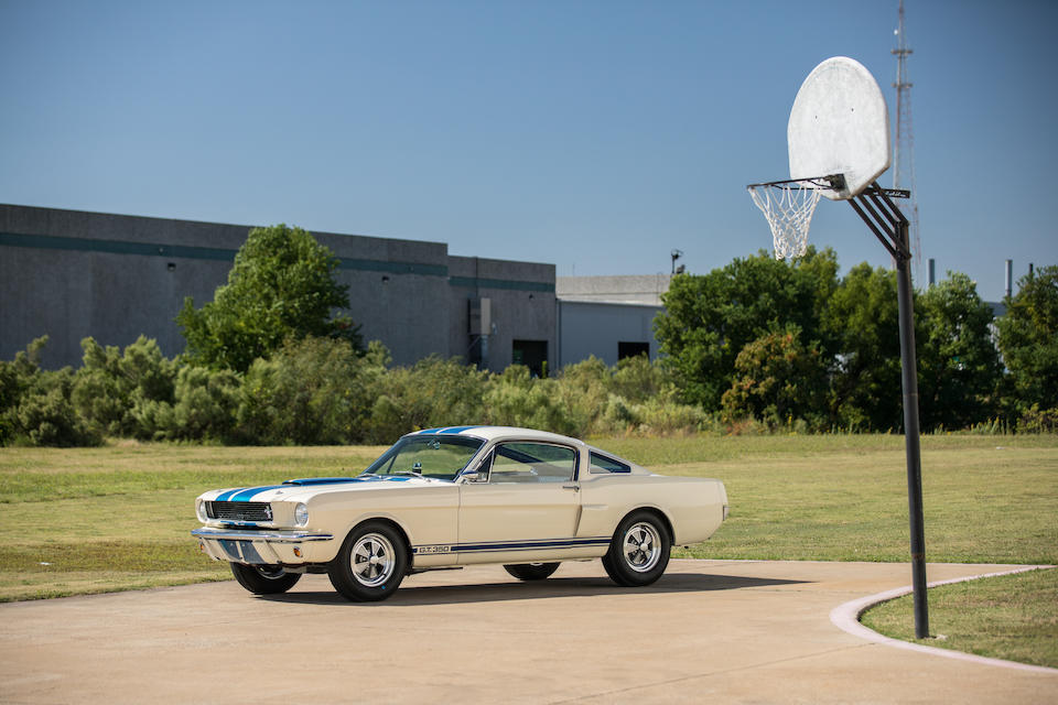 <b>1966 Shelby GT350 Fastback</b><br />Chassis no. SFM6S393