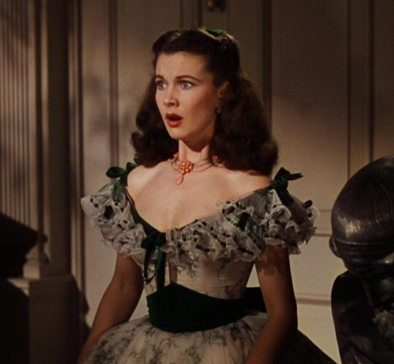 A Vivien Leigh coral necklace worn at the Twelve Oaks barbeque in Gone With the Wind