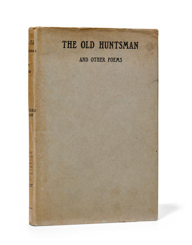 SASSOON, SIEGFRIED. 1886-1967. The Old Huntsman and Other Poems. London: William Heinemann, 1917.