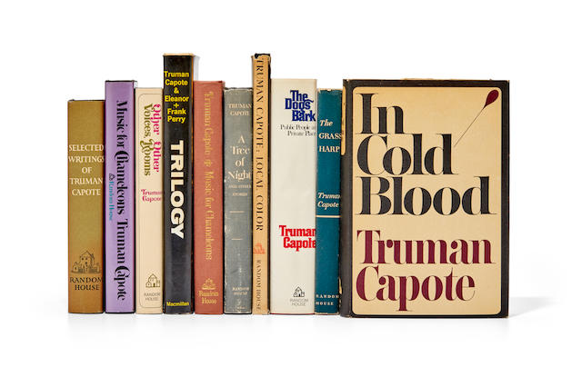 CAPOTE, TRUMAN. 1924-1984. A collection of signed books: