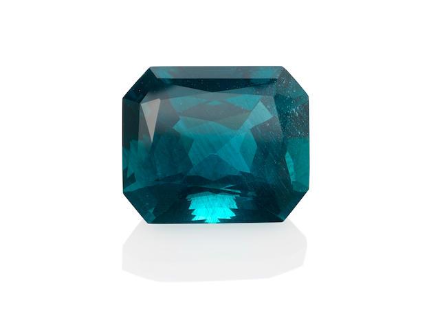 Rich Blue Apatite