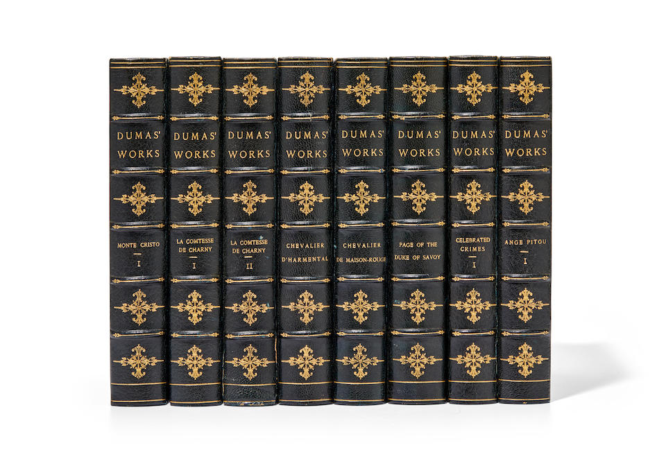 DUMAS, ALEXANDRE. 1802-1870. Works. Boston: Estes & Lauriat, [C.1885].