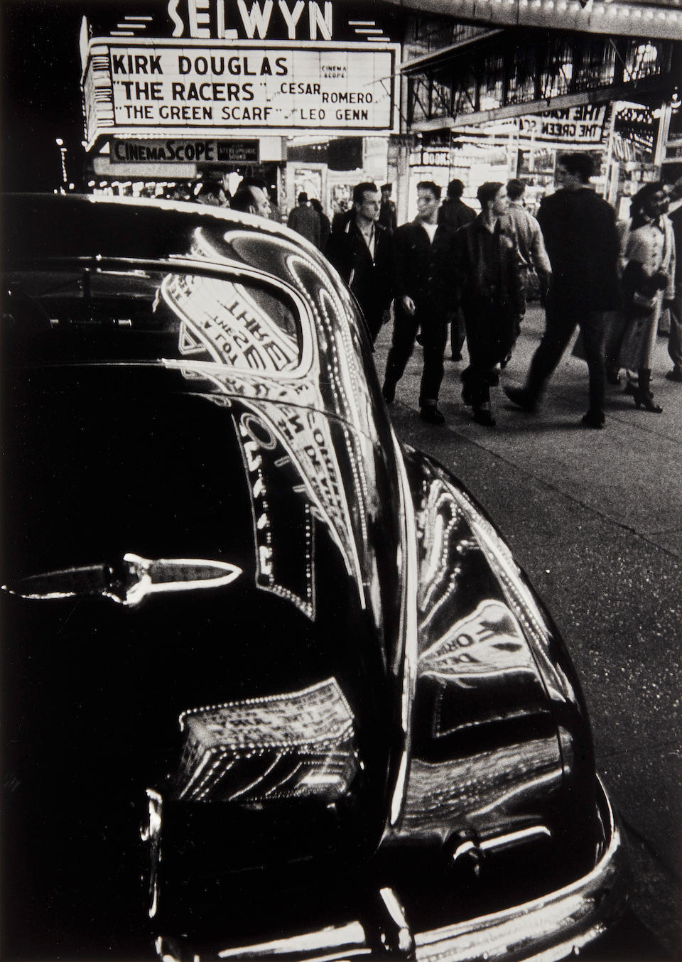 William Klein (born 1928); Selwyn Theatre, 42nd Street, New York;