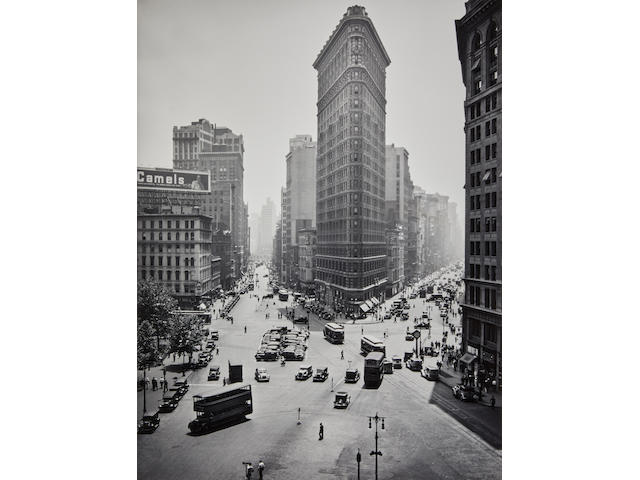 Berenice Abbott (1898-1991); Flatiron Building, New York City;