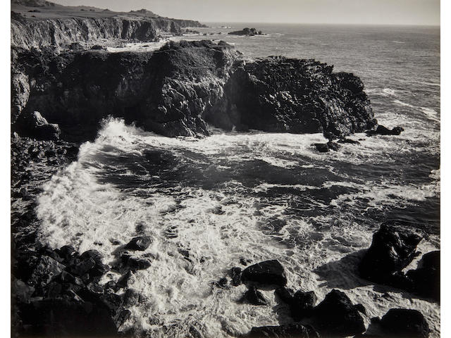 Ansel Adams (1902-1984); Cemetery Point, Timber Cove;