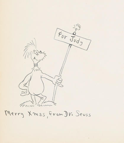 "GEISEL, THEODOR (""DR. SEUSS""). 1921-1990. If I Ran the Zoo. New York: Random House, (1950)."