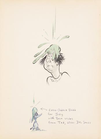 """GEISEL, THEODOR (""""DR. SEUSS""""). 1921-1990. Bartholomew and the Oobleck. New York: Random House, (1949)."""