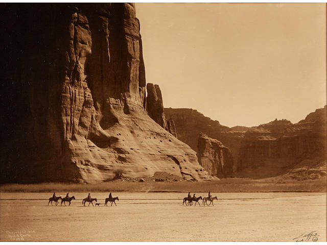 Edward S. Curtis (1868-1952); Canyon de Chelly;