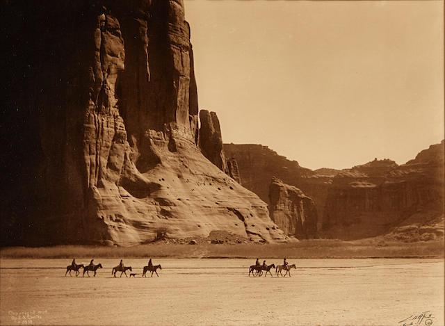Edward S. Curtis (1868-1952); Canyon de Chelly;
