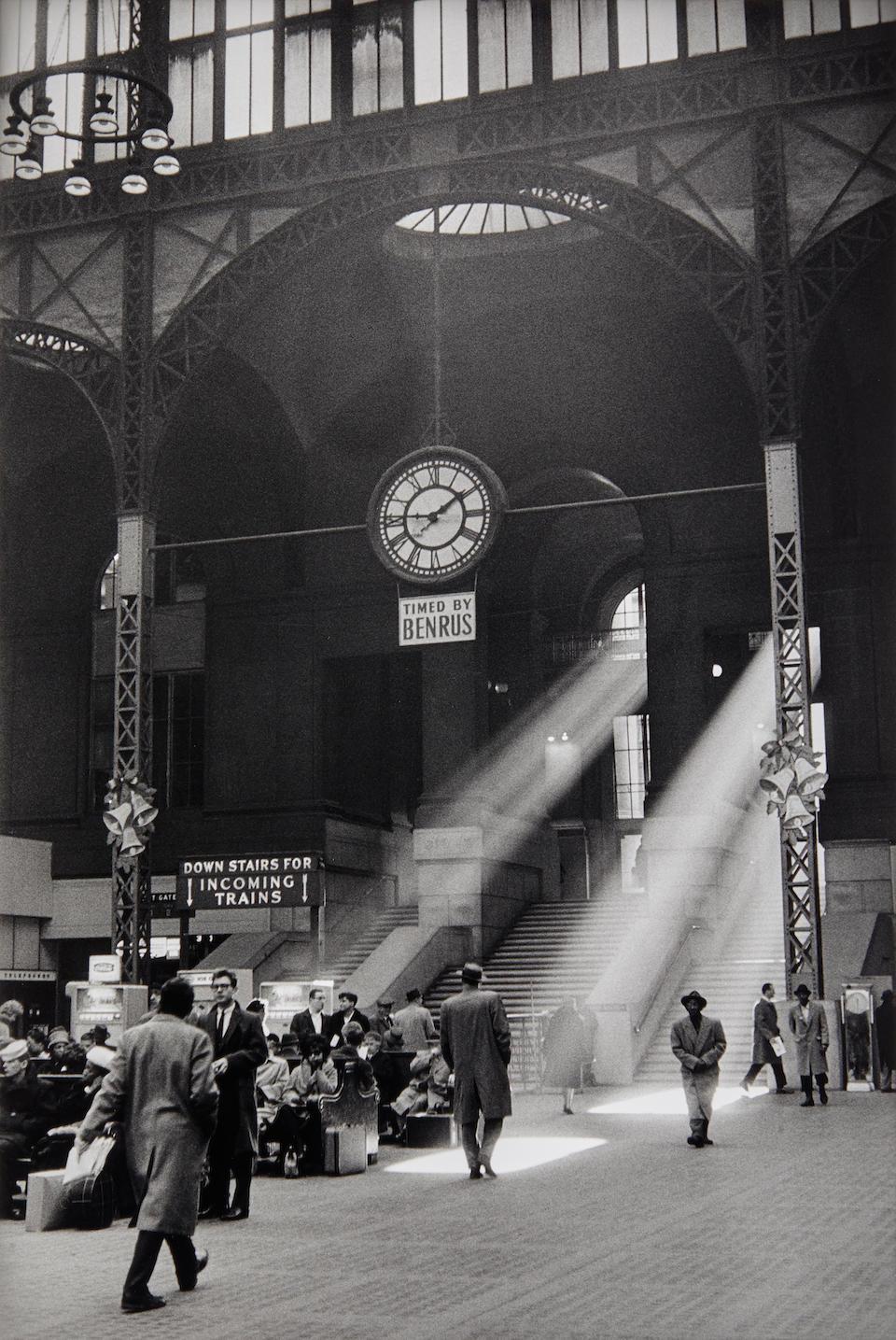 Sabine Weiss (born 1924); Penn Station, New York;