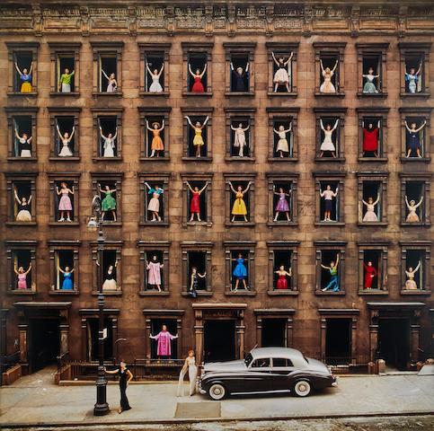 Ormond Gigli (born 1925); Girls in Windows, New York City;